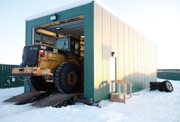 Pre-Engineered Metal Building Skiddable Steel Foundation Design 1