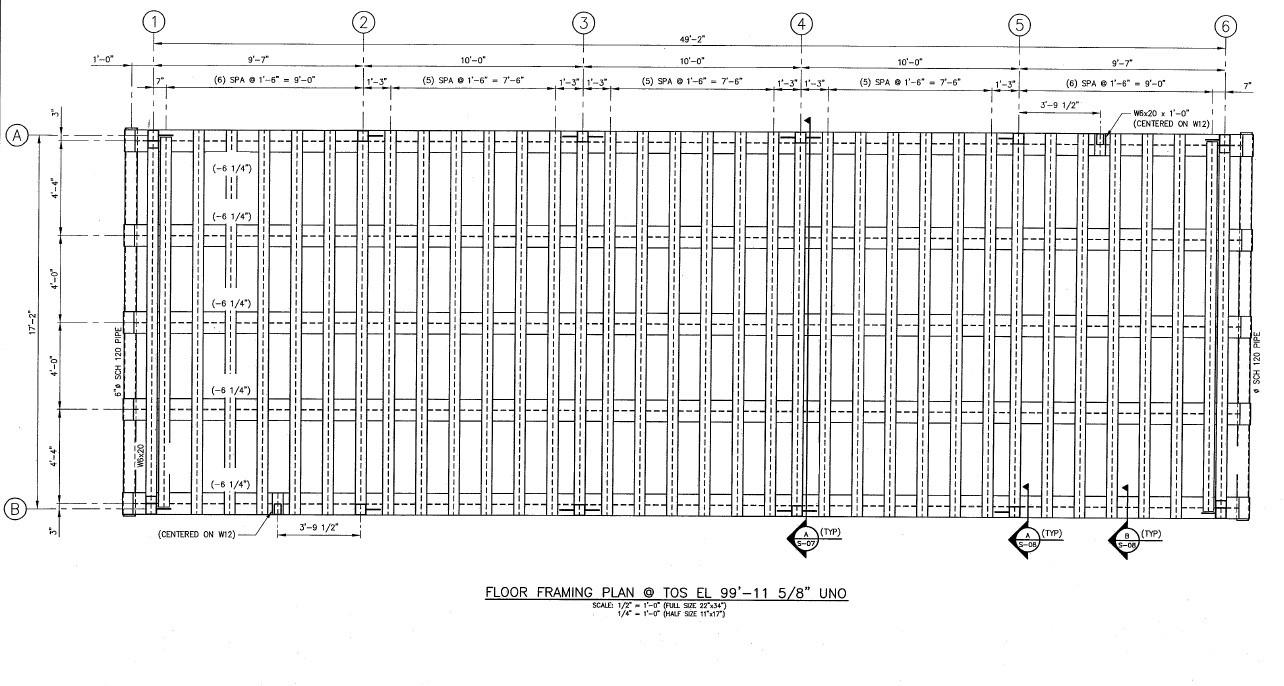 Pre-Engineered Metal Building Skiddable Steel Foundation Design 3