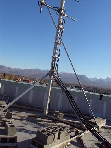 Structural Investigation - Roof Top - Cell Site Equipment- Emerald Bld Anchorage AK 2