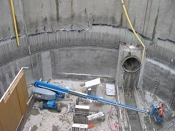 Waste Water Pump Station - 65ft Below Water- Pour Soils- Artesian Pressures -Liquifiable Soils- Kirkland WA 1