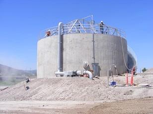 Waste Water Treatment Plant Tanks - Fermenter Tanks - Pile Foundations -Tanks on Pour Soils 3